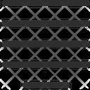 Justify Center Icon
