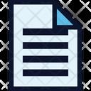 Justify File Icon