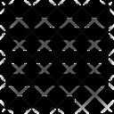 Text Justify Mini Icon