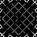K Alphabet Sign Icon
