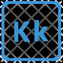 K alphabet Icon