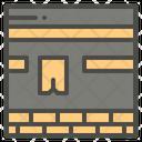 Kaaba Mecca Cube Icon