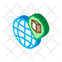 Kaaba Geolocation Planet Icon