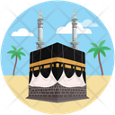 Arab Islamic Place Kabah Icon