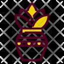 Kalash Kumbh Mango Icon