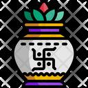 Kalasha Culture Coconut Icon