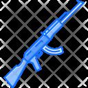 Kalashnikov Rifle Military Icon