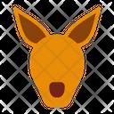 Kangaroo Animals Australia Icon