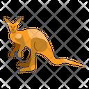 Kangaroo Unique Animal Icon