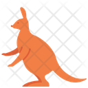 Kangaroo Animal Creature Icon