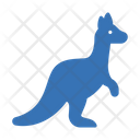 Kangaroo Mammal Zoo Icon