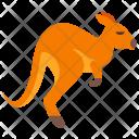 Kangaroo Animal Icon