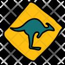 Kangaroos Crossing Park Icon