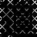 Kanji Calligraphy Symbols Icon