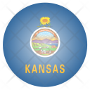 Kansas Us State Icon