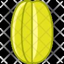 Karambola Fruit Fit Icon