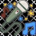 Karaoke Mic Singing Mic Icon