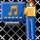 Karaoke Microphone Party Icon