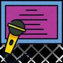 Karaoke Microphone Mic Icon