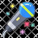 Akaraoke Mic Microphone Icon