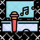 Karaoke Tv Microphone Icon
