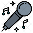 Karaoke Music Microphone Icon