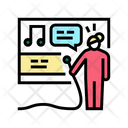Karaoke Mic Microphone Icon