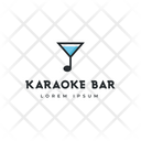 Karaoke Bar Karaoke Tag Karaoke Label Icon
