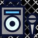 Karaoke Set Icon