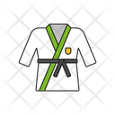 Karate Sport Game Icon