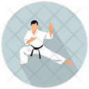 Karate Fight Sport Icon