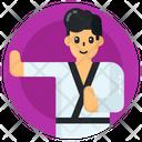 Karate Man Martial Art Karate Icon