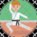 Sports Karate Sport Icon