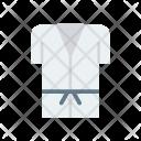 Karate Uniform Shirt Icon