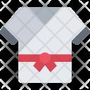 Karate Uniform Icon
