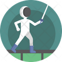 Sports Karate Fight Icon