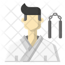 Karate player Icon