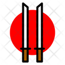 Japan Japanese Katana Icon