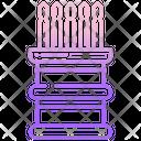 Kau Chim Chi Chi Sticks Fortune Sticks Icon