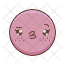 Kawaii Emotions Girl Icon