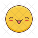 Kawaii Smail Emoji Icon