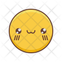 Kawaii Smiley Emoji Icon