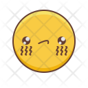 Kawaii Smiley Tears Icon