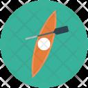 Kayak Sailing Rafting Icon