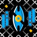Kayak Adventure Camp Icon