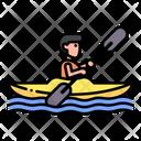 Kayak Kayaking Rafting Icon