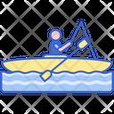 Kayak Fishing Icon