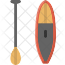 Activity Water Ride Paddle Board Icon