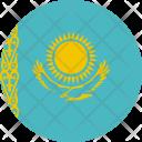 Kazakhstan Flag World Icon