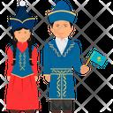 Kazakhstan Outfit Kazakhstan Clothing Kazakhstan Dress Icon